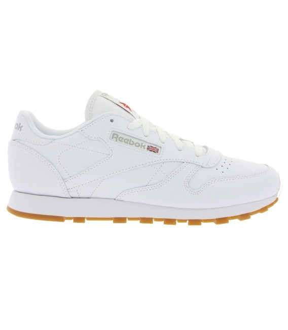 Zapatillas Reebok Classic Leather para mujer en color blanco