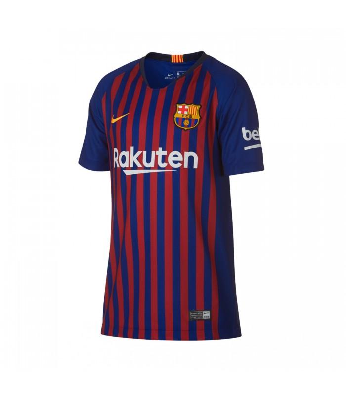 Camiseta de fútbol Nike FC Barcelona para la temporada 2018 19 Junior af610d80f4c