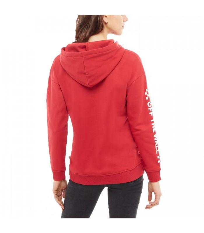 Fun Too Rojo Con En Mujer Para Color Capucha Much Vans Sudadera CwXvxtqpw