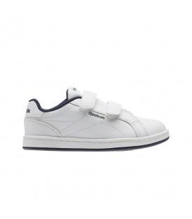 Zapatillas para niños con cierre de velcro y mayor comodidad Reebok Royal Comp CLN 2V CN1703 al mejor precio para la vuelta al cole en chemasport.es