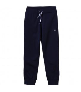 Pantalón Champion Rib Cuff 304779-BS503 para niños en color azul marino, prepárate para la vuelta al cole en chemasport.es