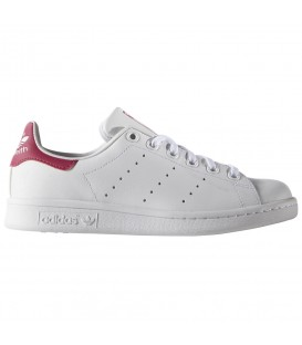 ZAPATILLAS ADIDAS STAN SMITH J B32703 BLANCO ROSA