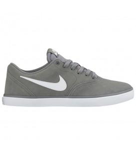 Zapatillas para hombre Nike SB Check Solarsoft 843895-005 de color gris al mejor precio y gastos de envío gratis en chemasport.es