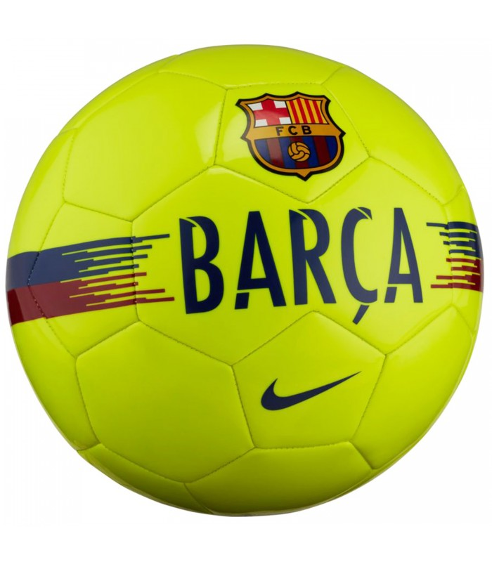 Balón Nike Fc Barcelona Supporters en color amarillo 89541be3000