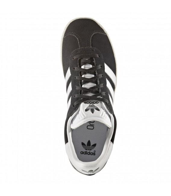 827ca3c89beb3 Zapatillas adidas Gazelle J para niño en color gris oscuro