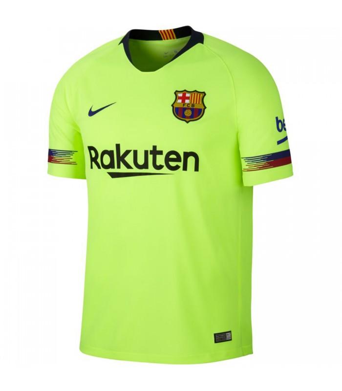 1f8f66b1f6816 Camiseta Nike Breathe Fc Barcelona Stadium Away