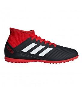 Botas de fútbol adidas Predator Tango 18.3 TF DB2330 para niños en color negro y rojo, en chemasport.es encontrarás más botas de fútbol de las mejores marcas.