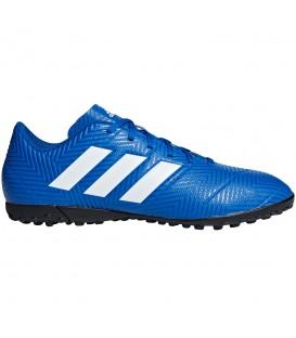 Botas de fútbol adidas Nemeziz Tango 18.4 Tf DB2264 para hombre en color azul y blanco, entra en chemasport.es y descubre más modelos