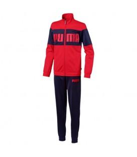 Chandal para niños Puma Rebel Suit con chaqueta y pantalón al mejor precio para la vuelta al cole. Otros chándal para niños en chemasport.es