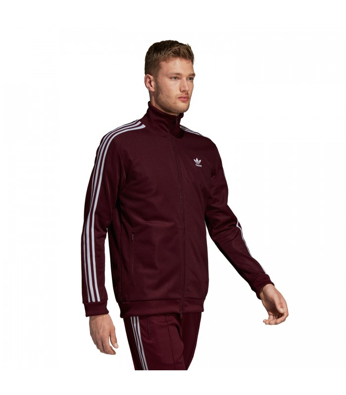 Beckenbauer Para Color Granate En Adidas Chaqueta Hombre CxwERTH5Tq
