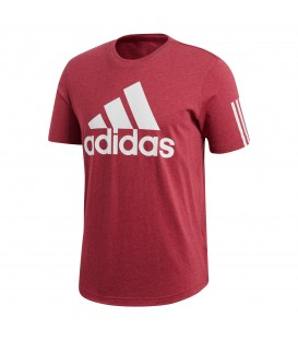 Camiseta adidas Sport ID Logo DM4063 para hombre en color granate, más camisetas adidas en chemasport.es