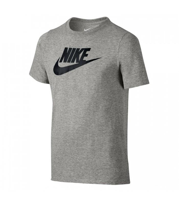 2badd398ef Camiseta Nike Futura Icon para niños en color gris