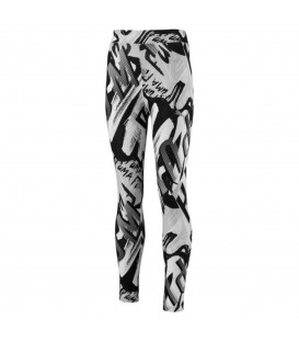 Mallas Puma Style 851836-02 para niñas en color blanco y negro. Más mallas para niñas en chemasport.es