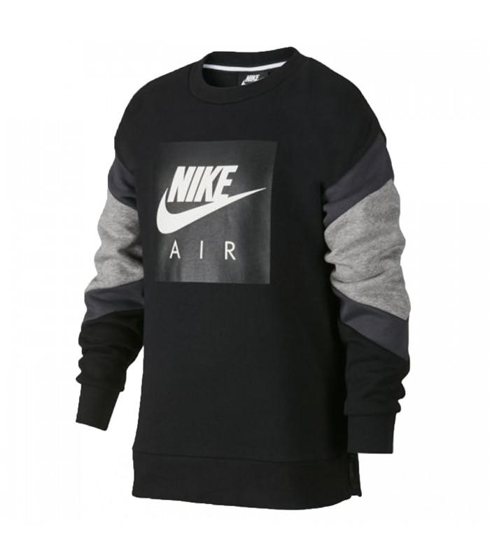 Sudadera Nike Air para niños en color negro