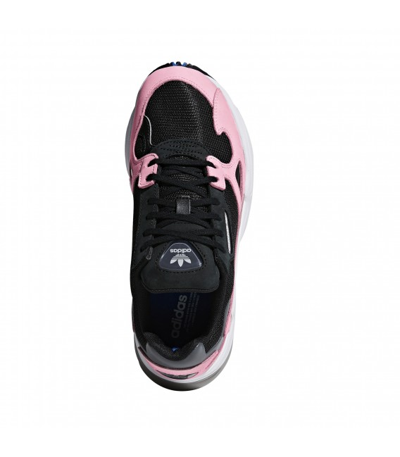 adidas falcon rosa y negro