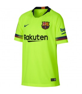 Camiseta Nike Breathe Fc Barcelona Stadium Away 919236-703 para niños de la temporada 2018/2019 está disponible en chemasport.es
