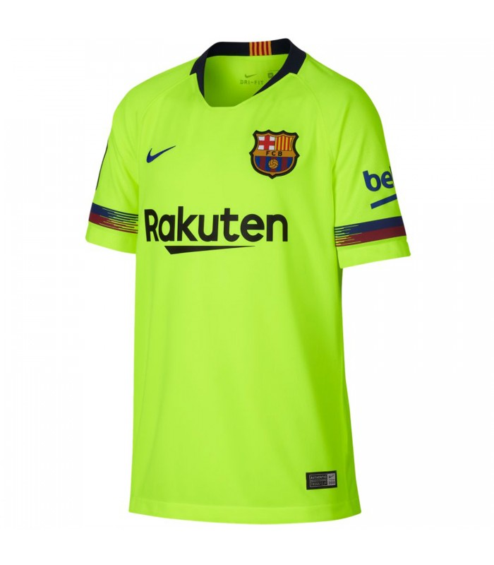 Camiseta Nike Breathe Fc Barcelona Stadium Away 475d15725b371
