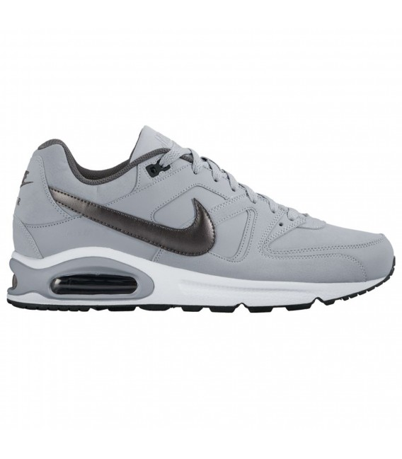 premium selection de0ed 97b9e Zapatillas Nike Air Max Command Leather para hombre en color gris