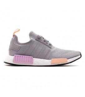 Zapatillas para mujer adidas NMD R1 W B37647 de color gris al mejor precio  en Chema Sneakers f59c9bdc5c1