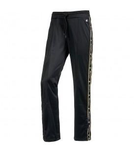 Pantalón Champion Straight Hem 110881-KK001 para mujer en color negro