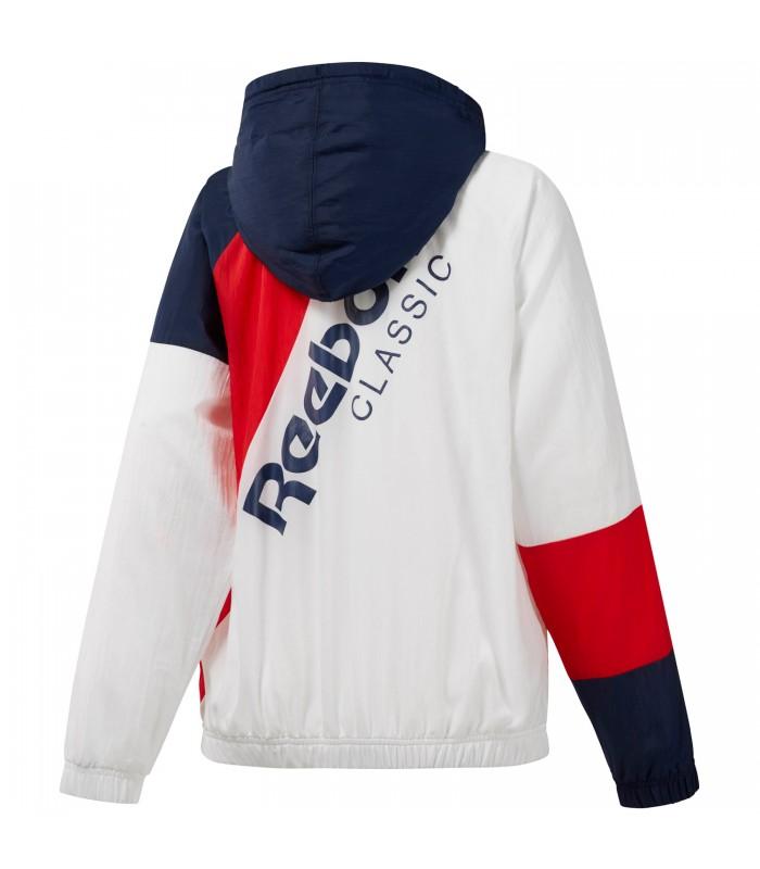 seleccione para oficial vívido y de gran estilo precio más bajo con Chaqueta cortavientos Reebok Classic para mujer en color blanco