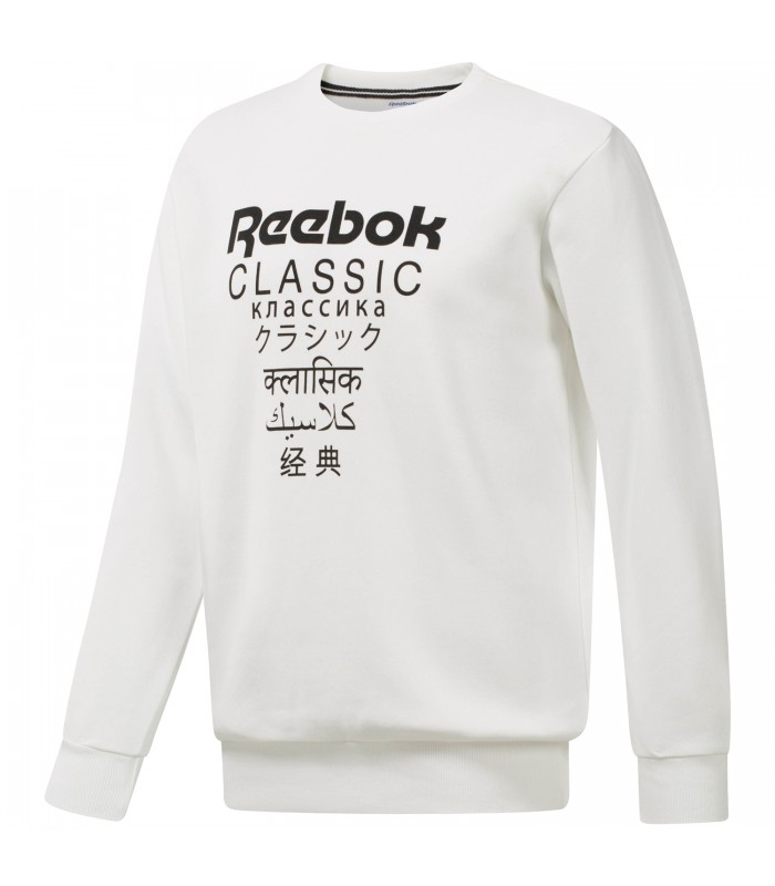 404e22579 Sudadera Reebok Classics Fleece Crew – International unisex