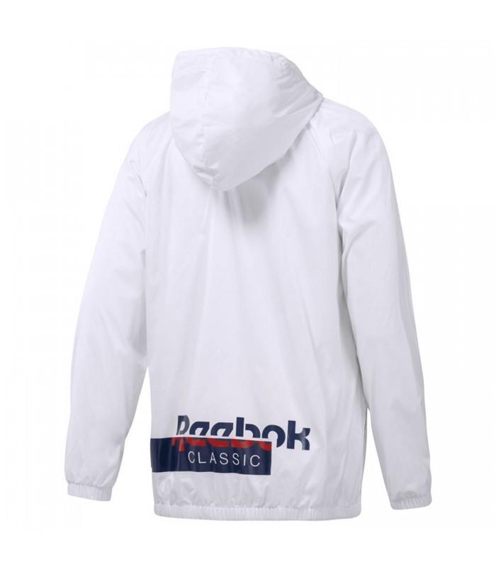Cortavientos Reebok Classics Foundation para hombre en color blanco e9db758112684
