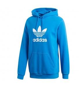 Sudadera adidas Trefoil DT9765 de color azul para mujer al mejor precio en tu tienda de deportes online chemasport.es