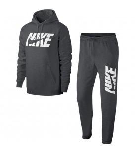 Chándal para hombre Nike Sportwear AR1341-071 de color gris oscuro al mejor precio en tu tienda de deportes online chemasport.es