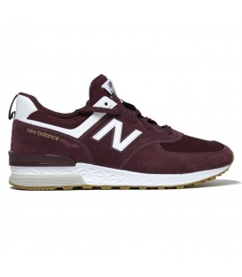 ZAPATILLAS NEW BALANCE 574 SPORT LIFESTYLE GRANATE