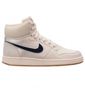 Zapatillas para mujer Nike Ebernon Mid Premium AQ1769-800 de color beige al  mejor precio a96deeeb55f