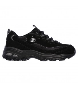 ZAPATILLAS SKECHERS D'LITES BIGGEST FAN 11930-BBK NEGRO