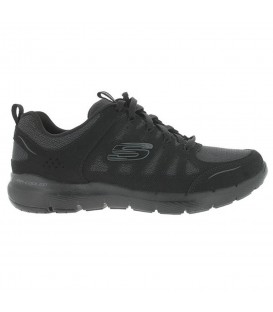ZAPATILLAS SKECHERS FLEX APPEAL 13061-BBK NEGRO