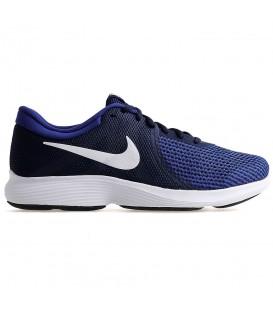 Zapatillas de running para hombre Nike Revolution 4 M AJ3490-414 de color azul marino al mejor precio en chemasport.es