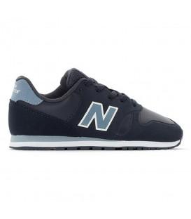 Zapatillas para mujer y niños New Balance Kids Lifestyle KD373S1Y de color azul con cierre de cordones al mejor precio en chemasport.es