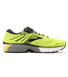 Zapatillas de running para hombre Brooks Adrenaline GTS 18 amarillas con gastos de envío gratis en chemasport.es