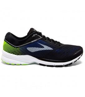 Comprar zapatillas de running para hombre Brooks Launch 5 1102781D016 de color negro al mejor precio y gastos de envío gratis en chemasport.es