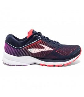 Zapatillas de running para mujer Brooks Launch 5 W 1202661B460 de color azul marino al mejor precio en tu tienda de deportes online chemasport.es