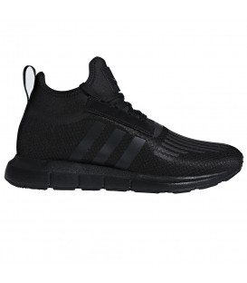 ZAPATILLAS ADIDAS SWIFT RUN BARRIER B42233 NEGRO HOMBRE