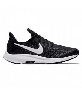Zapatillas para mujer y niños Nike Air Zoom Pegasus 35 GS AH3482-001 de color negro. Otros modelos de running para niños en chemasport.es