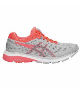 ZAPATILLAS ASICS GT-1000 7 1012A030-021 GRIS MUJER