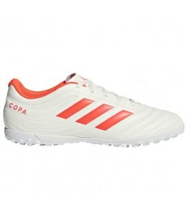 Botas de fútbol para hombre adidas copa 19.4 TF D98070 de color blanco. Otros modelos de botas de fútbol al mejor precio en chemasport.es