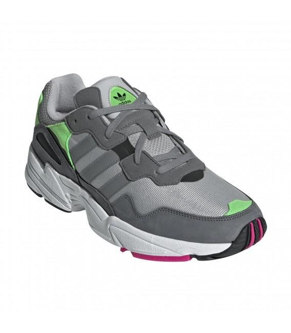 zapatillas adidas grises hombre