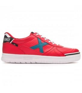 Zapatillas de fútbol sala para hombre Munich G-3 Profit 937 de color rojo al mejor precio en tu tienda de deportes online chemasport.es
