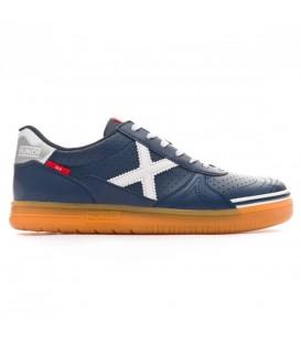 Zapatillas de fútbol sala para hombre Munich G-3 Profit 944 de color azul marino. Otros modelos de fútbol sala en chemasport.es