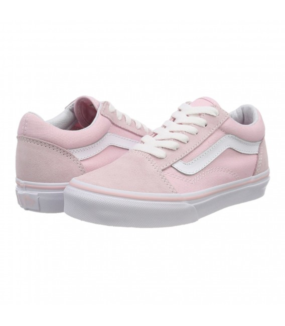 vans rosa palo