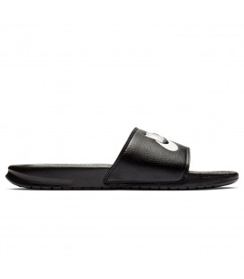 Chanclas de nataición unisex Nike Benassi Just Do It 343880-090 de color negro al mejor precio en chemasport.es