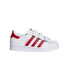 ZAPATILLAS ADIDAS SUPERSTAR CF C CG6622 BLANCO ROSA