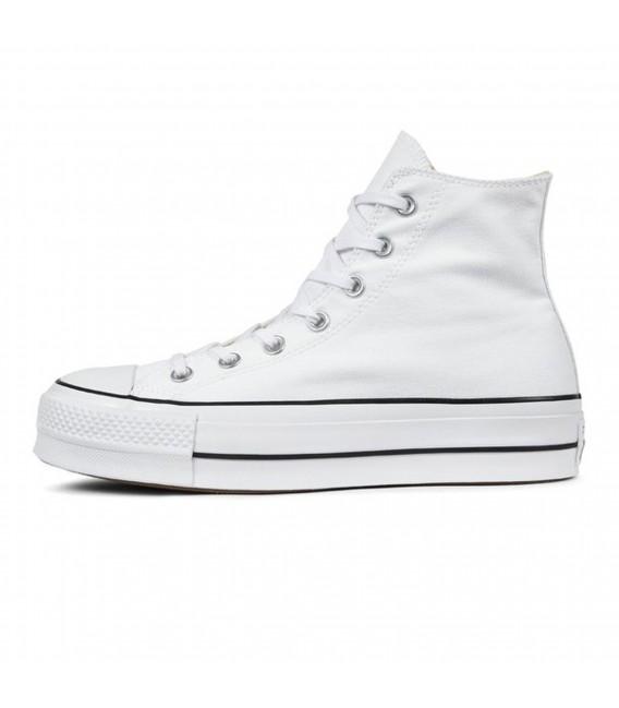 converse chuck taylor all star lift blancas