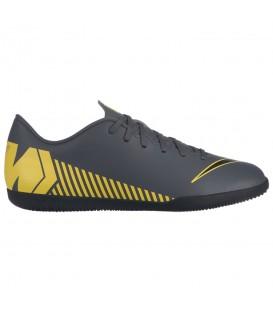 Comprar zapatillas de fútbol sala para hombre Nike Vapor 12 Club IC AH7385-070 de color gris al mejor precio en tu tienda de deportes online chemasport.es
